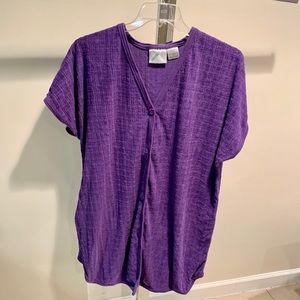 Hampton House Excellent Condition Purple Robe